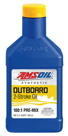 Outboard 100:1 Pre-Mix Synthetic 2-Stroke Oil (ATO)